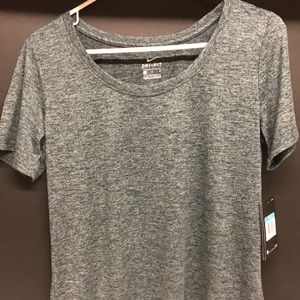 Nike Women's Dry Dri-Fit Size M Gray Training Top